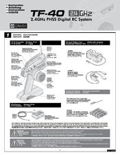Tf-40 инструкция