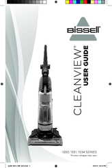 Bissell CLEANVIEW 1331 SERIES User Manual