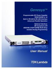 tdk lambda genesys gen150 5 manuals rh manualslib com TDK-Lambda Power Supply Manual tdk lambda genesys user manual