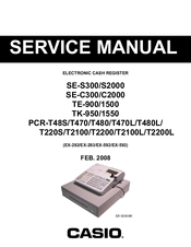 Casio TK-950 Service Manual
