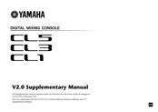 Yamaha CL5 Supplementary Manual