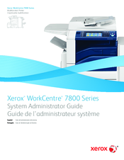 Xerox WorkCentre 7970 System Administrator Manual