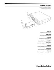 audio technica atw 1322 manuals rh manualslib com audio technica at8022 manual audio technica manuel