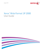 Xerox IJP 2000 User Manual