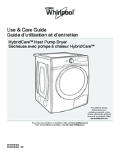 Whirlpool HybridCare WED99HEDW Use & Care Manual