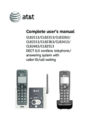 at t cl82313 manuals rh manualslib com att phone manual cl82215 att phone manual 1855