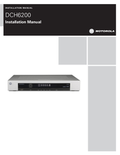 Motorola DH6200 Installation Manual
