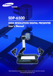 Samsung SDP-6500 User Manual