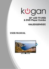 kogan kaled32dvdzc manuals rh manualslib com kogan steam mop user manual kogan projector user manual