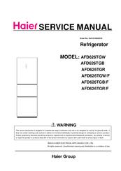 HAIER AFD626TGW SERVICE MANUAL Pdf Download. on