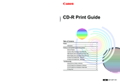 Canon Cd printer Print Manual