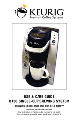 keurig b130 manuals rh manualslib com Keurig Adjustments Reusable K-Cups for Keurig Coffee Makers