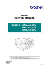 brother mfc j6510dw service manual pdf download rh manualslib com brother inkjet printer service manual pdf brother inkjet printer service manual pdf