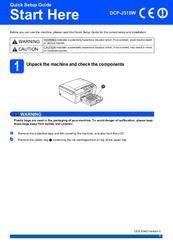 brother dcp j315w manuals rh manualslib com brother dcp-j315w printer manual Brother Multifunction Printers