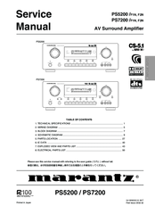 marantz pm 15s1 integrated amplifier service manual