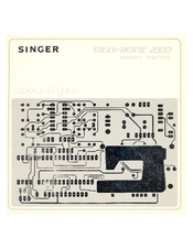 Singer TOUCH-TRONIC 2000 Operator's Manual