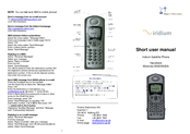 Motorola 9505 Short User Manual