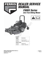 ferris f800x series manuals rh manualslib com ferris is500z service manual ferris is600z service manual