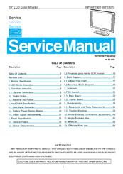 hp wf1907v manuals rh manualslib com HP W1907 Gamong HP W1907 Gamong