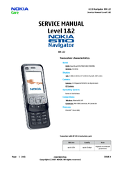 nokia 6110 navigator smartphone 40 mb manuals rh manualslib com Nokia 6101 Refurbished Nokia Phones