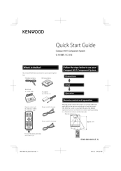 Kenwood C-515BT Quick Start Manual