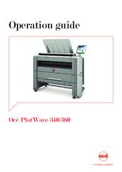 oce plotwave 360 manuals rh manualslib com Oce Printers and Copiers Oce VarioPrint 6200 Printers and Copiers