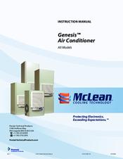 Mclean Cooling Technology Genesis M52 1226 Xxx Manuals Manualslib