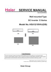haier hsu18vhj db manuals rh manualslib com haier service manual download haier cpn14xc9 service manual