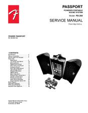 fender passport pd 250 manuals rh manualslib com Fender Passport 250 Owner's Manual Fender Passport 150 Pro