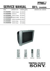 sony trinitron kv sw29m90 manuals rh manualslib com sony trinitron wega tv manual sony trinitron xbr tv manual