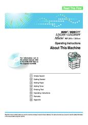ricoh aficio mp 201spf manuals rh manualslib com Ricoh Printer Drivers ricoh copier instruction manuals