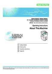 ricoh aficio mp 4000 manuals rh manualslib com ricoh aficio mp 4000 support ricoh aficio mp 4000 manual pdf