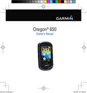 garmin oregon 650 manuals rh manualslib com garmin 650 instruction manual garmin oregon 650 user manual
