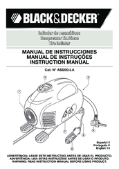 Black & Decker ASI200-LA Instruction Manual