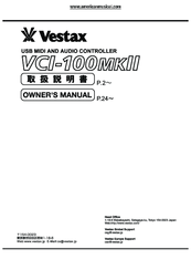 Vestax vci 300 manual.