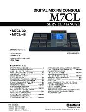 yamaha m7cl user manual