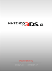 nintendo 3ds xl operation manual pdf download rh manualslib com Nintendo Wii Nintendo DS