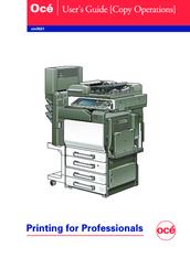 oce cm3521 manuals rh manualslib com Oce Copy Machines Oce Copy Machines