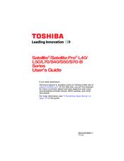 toshiba satellite s50 manuals rh manualslib com toshiba satellite l300d service manual toshiba satellite a100 service manual