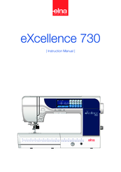 ELNA eXcellence 730 Instruction Manual