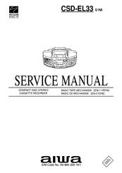 aiwa csd el33 manuals rh manualslib com Aiwa Stereo System Aiwa Stereo System CD Player