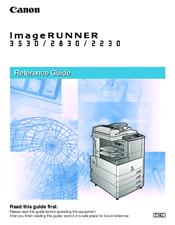 canon imagerunner 2830 manuals rh manualslib com canon imagerunner 3530 manual canon ir 3530 service manual pdf