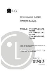 Lg ffh-868ax инструкция