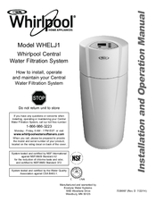Whirlpool Whelj1 Manuals