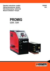 Kemppi Promig 520r Manuals