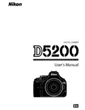 nikon d5200 manual mode settings