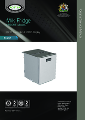 FOSTER HR80MF SERVICE MANUAL Pdf Download