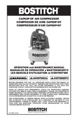 bostitch cap60p of manuals bostitch cap60p of operation and maintenance manual