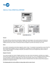 ADEMCO 6139 USER MANUAL Pdf Download