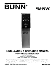 Bunn Coffee Maker Heating Element Problems : Bunn H5E-DV PC Manuals